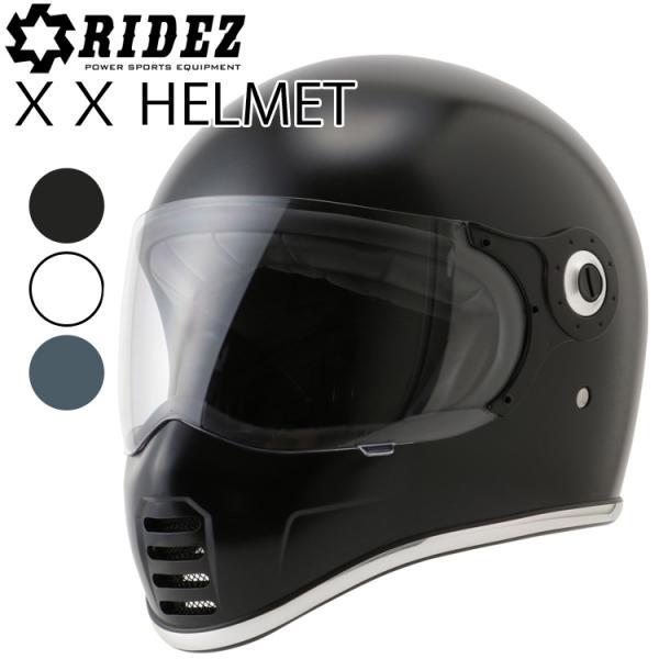 RIDEZ ライズ XXヘルメット ネオクラシックフルフェイス SG規格 あすつく対応|freeline