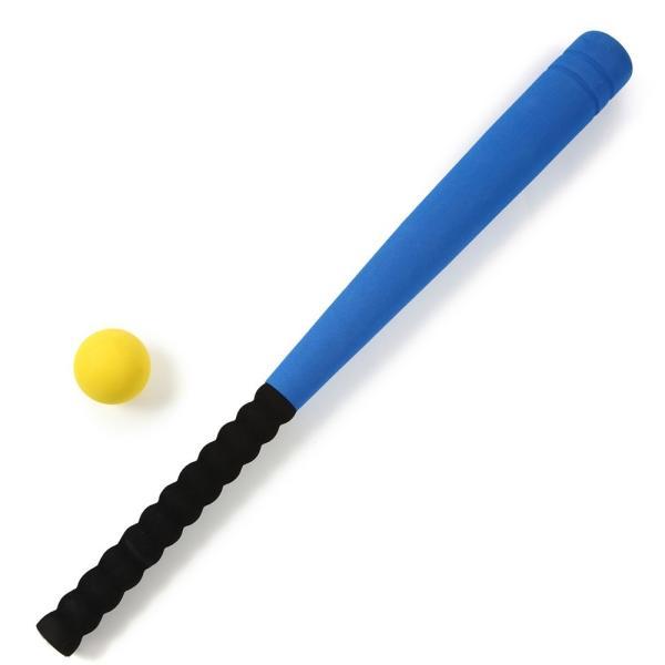 送料無料 ポイント消化 おすすめ 人気BEATON JAPAN 野球 スポンジ 子供 バット 贈り物 青 ボール付き おもちゃ セット 世界の人気ブランド