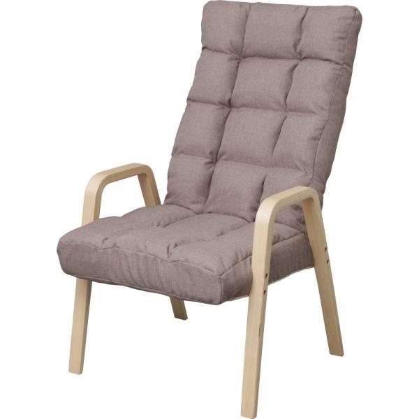 <title>送料無料 ポイント消化 送料無料(一部地域を除く) おすすめ 人気アイリスオーヤマ 座椅子 ウッドアームチェア Lサイズ ブラウン WAC-L</title>