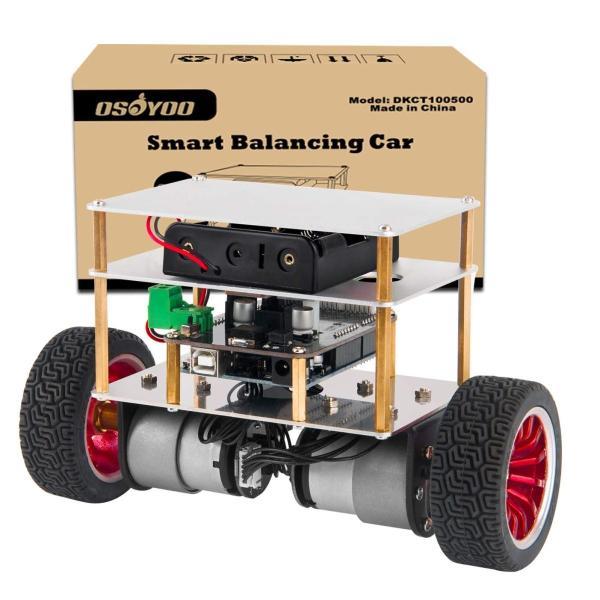 NEW売り切れる前に☆ 送料無料 ポイント消化 おすすめ 人気OSOYOO プログラミング 教育 スターターキット R3 二輪 ロボット カー 自立 NEW UNO Arduino