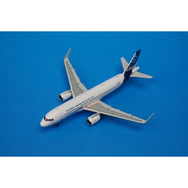 Hunting Down Fuel Burn/' 1//400 Scale Model Phoenix Airbus A320 /'Sharklets