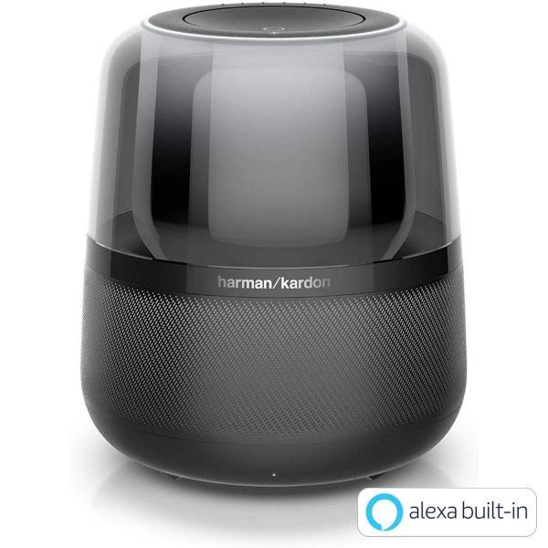 ハーマンカードン アルーア スマートスピーカー Amazon Alexa搭載/Bluetooth対応 ブラック Harman Kardon ALLURE【国内正規品】|freestyle27
