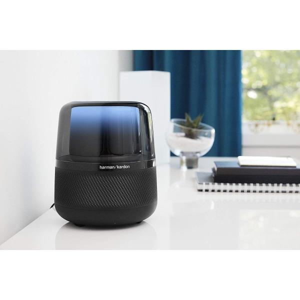 ハーマンカードン アルーア スマートスピーカー Amazon Alexa搭載/Bluetooth対応 ブラック Harman Kardon ALLURE【国内正規品】|freestyle27|02