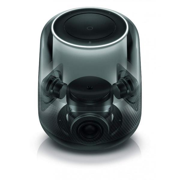 ハーマンカードン アルーア スマートスピーカー Amazon Alexa搭載/Bluetooth対応 ブラック Harman Kardon ALLURE【国内正規品】|freestyle27|03