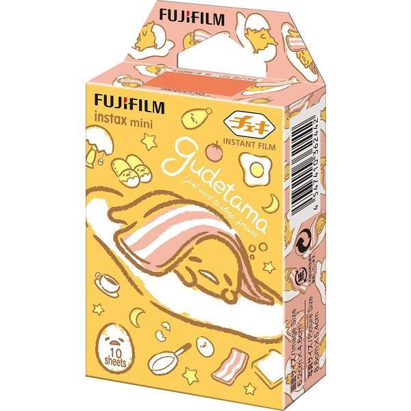 FUJIFILM インスタントカメラ チェキ用フィルム 10枚入 絵柄 (ぐでたま2) INSTAX MINI GUDETAMA2 WW 1