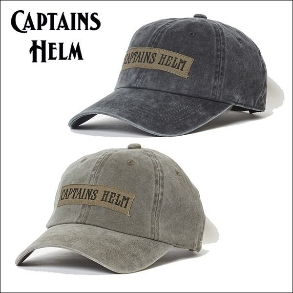 58fdc6209c9 CAPTAINS HELM キャプテンズヘルム  MILITARY CAP ミリタリーキャップ・2color|freeway ...