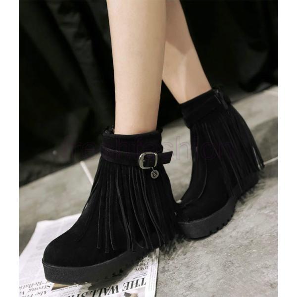 大人気 新品 ブーツ ショートブーツ フリンジブーツ ムートンブーツ 厚底ブーツ フラットシューズ シークレットブーツ ブーティー シューズ 靴 レディース