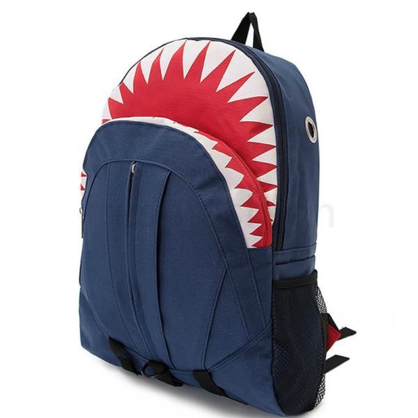 サメ リュック 個性的 リュックサック バックパック デイパック ユニーク おもしろ 原宿 大人気 新品 定番