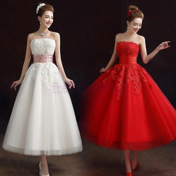 b1e4421ebb79a 新品人気 パーティードレス 結婚式 ドレス ウェディングドレス イブニングドレス カラードレス ロングドレス 二次会 ...