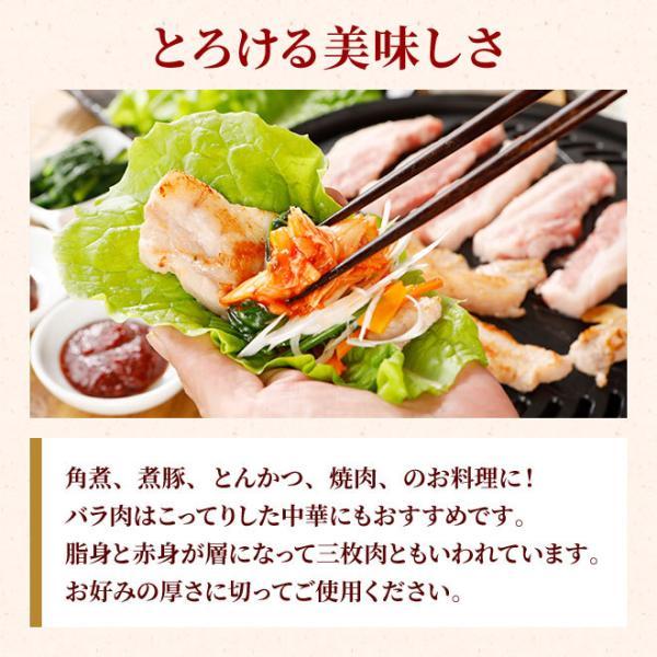 やまと豚バラ肉ブロック300g | やまと豚 豚肉 やまと 豚 お取り寄せグルメ お取り寄せ グルメ 食品 食べ物 肉 お肉 豚バラ ステーキ 厚切り ステーキブロック|frieden-shop|03
