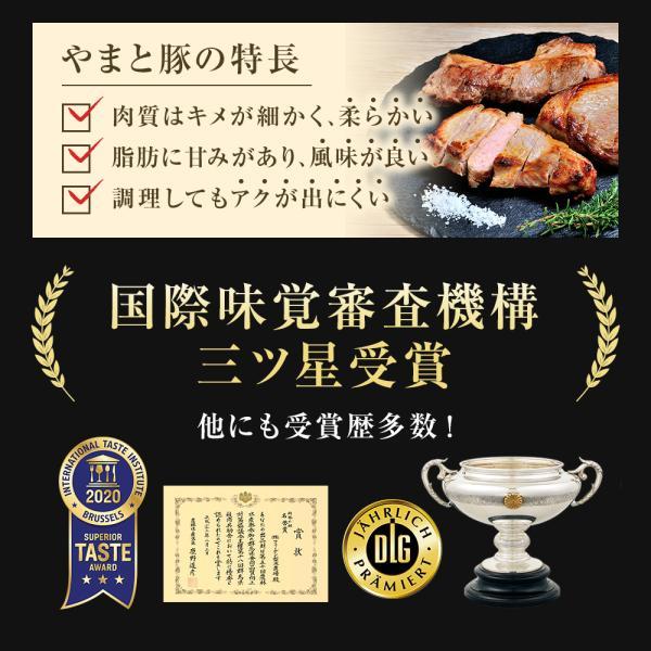 やまと豚ロースブロック300g |やまと豚 豚肉 やまと 豚 お取り寄せグルメ お取り寄せ グルメ 豚ロース 食品 食べ物  ステーキ 厚切り ステーキブロック|frieden-shop|07