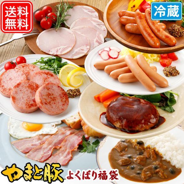 やまと豚よくばり福袋 NS-A | ソーセージ 詰め合わせ ウィンナー やまと豚 豚肉 やまと 豚 ギフト お取り寄せグルメ お肉 ギフトセット 食品 お取り寄せ|frieden-shop