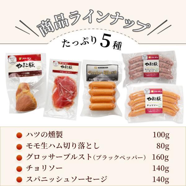 家呑みセットB NS-O |やまと豚 豚肉 やまと 豚 ウィンナー お取り寄せグルメ ソーセージ お肉 お取り寄せ 食べ物 セット 肉 グルメ|frieden-shop|16