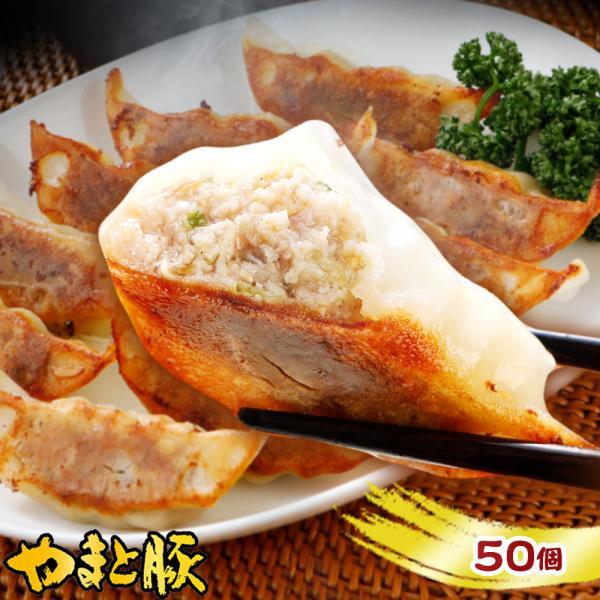 やまと豚 肉餃子900g(50個) | [冷凍]  餃子 ご飯のお供 肉 お肉 冷凍 豚肉 国産 惣菜 おつまみ お惣菜 おかず 冷凍食品 つまみ 冷凍餃子 おいしい ギョーザ|frieden-shop