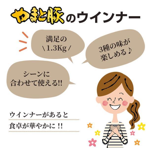 お徳用ウインナー3種セットA NS-W |やまと豚 豚肉 やまと 豚 ウィンナー お取り寄せグルメ ソーセージ お肉 お取り寄せ 食べ物 セット 肉 グルメ|frieden-shop|04