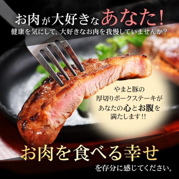 やまと豚 厚切りポークステーキ (5パックセット) NSG-G | [冷凍] 送料無料 冷凍 父の日 食べ物 お取り寄せ グルメ セット 肉 食品 ギフト おつまみ 御中元|frieden-shop|15