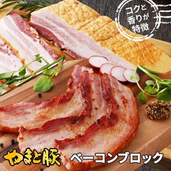 やまと豚 ベーコンブロック350g | [冷蔵] やまと豚 豚肉 やまと 豚 お取り寄せグルメ お取り寄せ グルメ 食品 食べ物 肉 お肉 お惣菜 ギフト 取り寄せ|frieden-shop|02