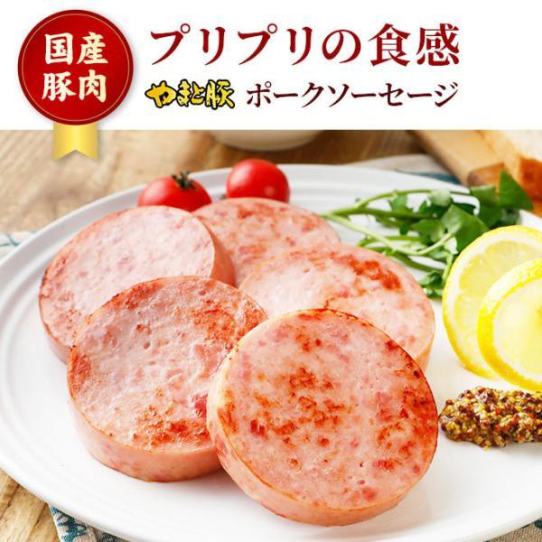やまと豚 ポークソーセージ 200g | [冷蔵] やまと豚 豚肉 やまと 豚 お取り寄せグルメ お取り寄せ グルメ 食品 食べ物 ソーセージ お肉 お惣菜 肉|frieden-shop|02