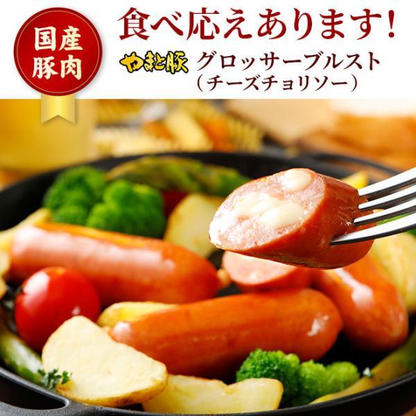 グロッサーブルスト チーズチョリソー 160g |やまと豚 豚肉 やまと 豚 お取り寄せグルメ お取り寄せ グルメ 食品 食べ物ウインナー ソーセージ 肉 お肉|frieden-shop|02