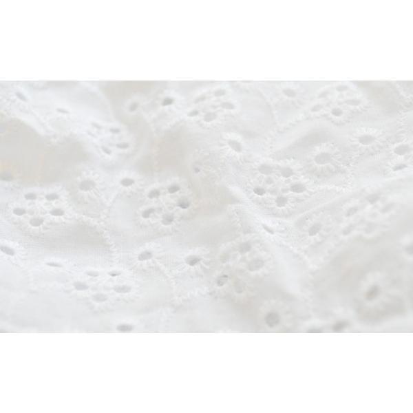 Atelier des F.R.L 綿刺繍レース スモック ワンピース|frl-shop|06