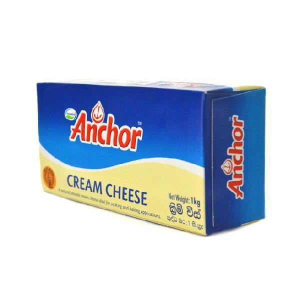 ニュージーランド クリームチーズ 1kg(アンカー)【クリームチーズ/フレッシュタイプチーズ/徳用・業務用】