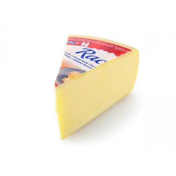 スイス産 ラクレット 1/8カット 約650g(不定量)【セミハードタイプチーズ/スイス】