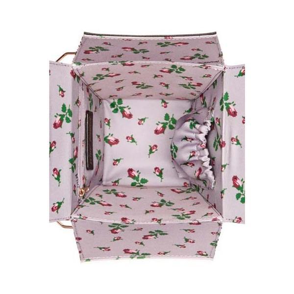 ベッツィージョンソン クロスボディ/ポシェット Chinese Lunchbox Crossbody (Black/White Stripe) ランチボックス (ブラックホワイトストラップ)