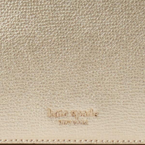 ケイトスペード バッグ/財布 PWRU7201 Kate Spade  SYLVIA CHAIN WALLET (PALE GOLD) シルビア チェーン ウォレット 財布 (ペールゴールド)