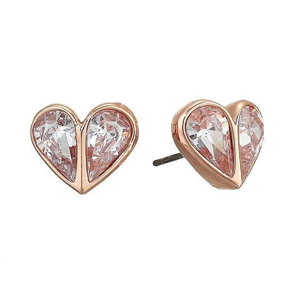 ケイトスペード ピアス Kate Spade Crystal Heart Stud Earrings (Clear/Rose Gold) クリスタル ハート スタッド ピアス (クリア/ローズゴールド)