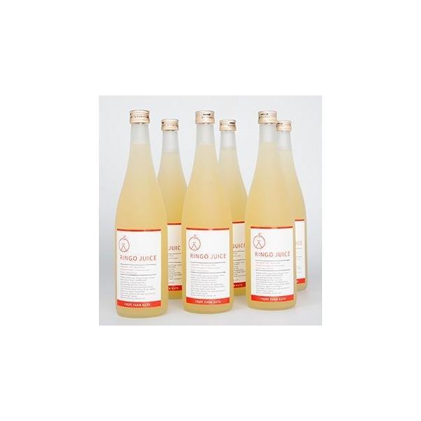 【送料無料】樹上完熟 ストレート天然果汁100% 吟壌ふじりんごジュース 6本セット ふくしまプライド。体感キャンペーン(お酒/飲料)|fruitfarmkato