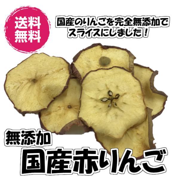 無添加りんご 赤りんご 砂糖不使用 300g ドライフルーツ 送料無料 国産 (赤りんご300g FSY)お試し りんご リンゴ フォンダンウォーター