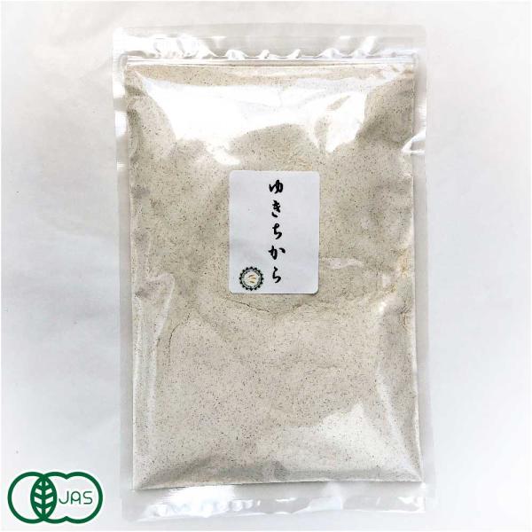 自然栽培小麦粉(強力粉) 国産 無添加 有機JAS 「ゆきちから」使用1kg  (青森県 SKOS合同会社) 産地直送