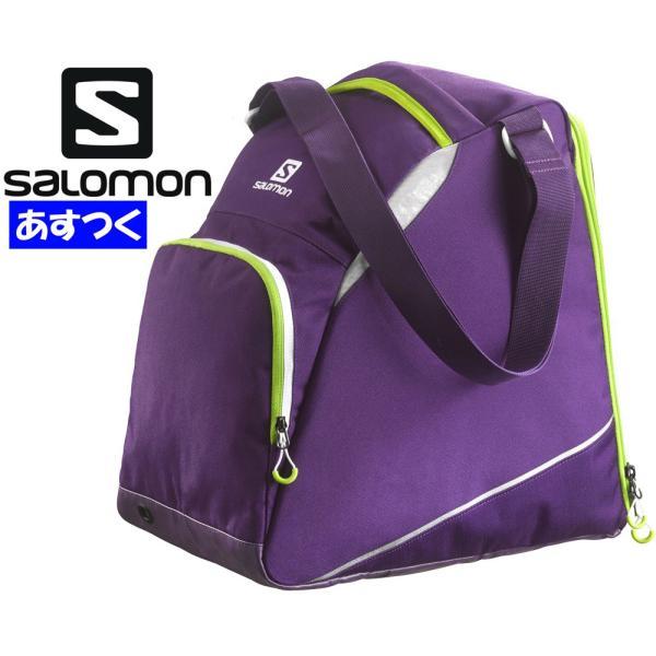 サロモンsalomon スキー スノーボード ブーツバック「EXTEND GEAR BAGエクステンドギアバッグ/パープル×グリーン」L37581600