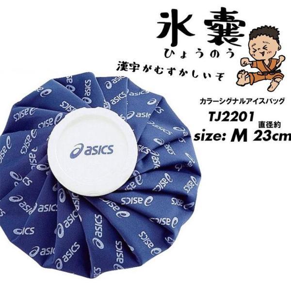 asics 【Mサイズ】アシックス 氷嚢 氷のう アイシングカラーシグナルアイスバッグ M【TJ2201】熱中症対策|ftk-2