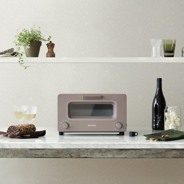 BALMUDA The Toaster(バルミューダ ザ・トースター)/ショコラ/K01E-CW|ftk-tsutayaelectrics
