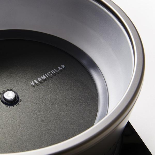 バーミキュラ(Vermicular) ライスポット(セット) ソリッドシルバー|ftk-tsutayaelectrics|05
