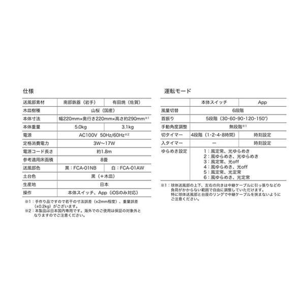 香り導くサーキュレーター FUMA(南部鉄器)