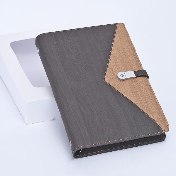 充電できるシステム手帳ELENOA(エレノア)Ver.1.0/モバイルバッテリー(10000mAh)・USBメモリー(8GB)内蔵・バインダー・A5リフィル [ブラウン]|fttrade-store|07
