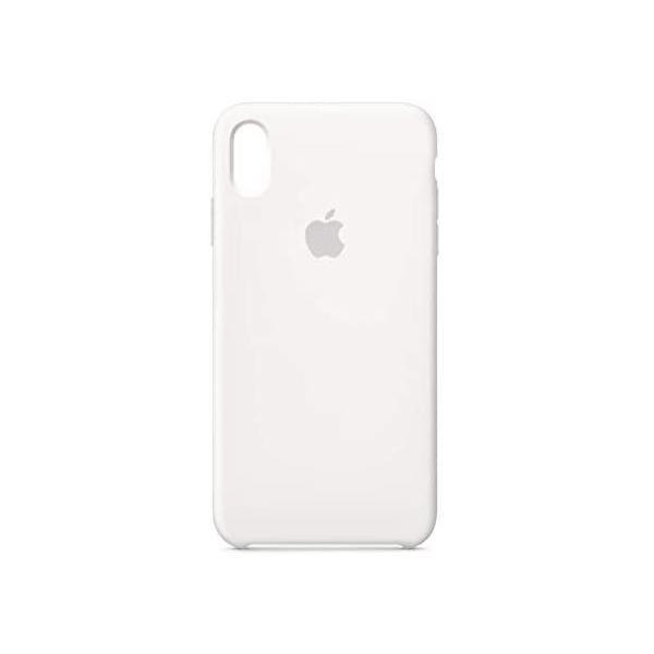 ホワイト iPhone XS Maxシリコーンケース - ホワイト fubuki 03