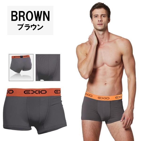ボクサーパンツ メンズ セット 単色 4枚 ブランド アンダーウェア おしゃれ ローライズ パンツ お試し ポイント消化 送料無料 4サイズ 全8色 EXIO エクシオ fuerzajapan 12