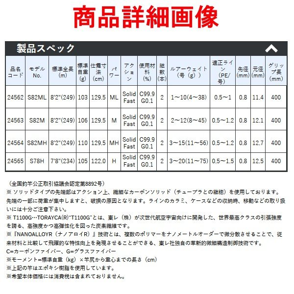 一部送料無料  がまかつ  ラグゼ  桜幻 鯛 ( おうげん たい) テンヤ  S82ML  船竿 ( 2019年 4月新製品 )