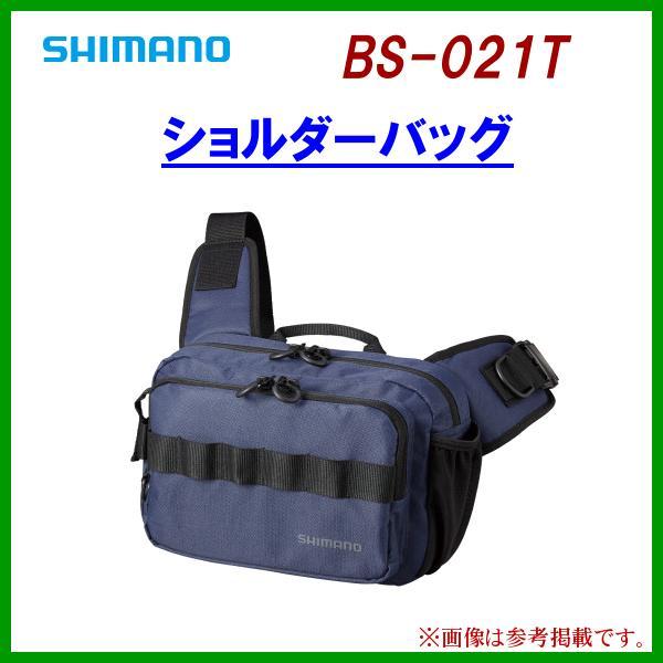 シマノ  ショルダーバッグ  BS-021T  ネイビー  ( 2021年 3月新製品 )