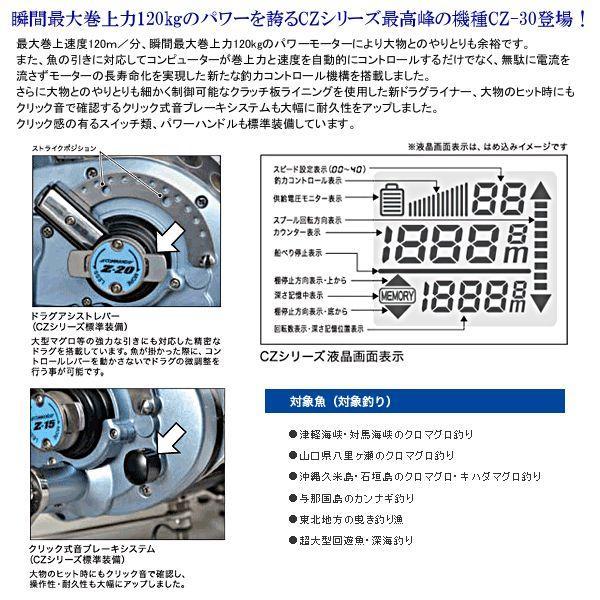 ミヤマエ ( ミヤエポック)  電動リール  コマンド  CZ-30  ( Z-30 )  ( 24V )   !|fuga0223|02