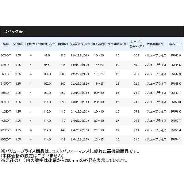 ≪'17年7月新商品!≫ シマノ ホリデースピン (振出) 275JXTS 〔仕舞寸法 79.5cm〕