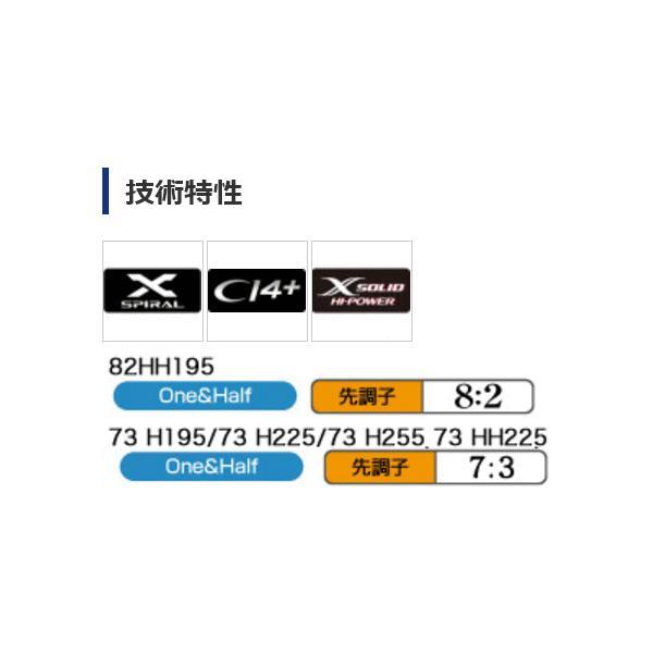 ≪'17年7月新商品!≫ シマノ ライトゲーム CI4+ モデラート TYPE73 H225 〔仕舞寸法 157.4cm〕 【保証書付】 【大型商品1/代引不可】