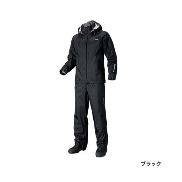≪'17年3月新商品!≫ シマノ DSベーシックスーツ RA-027Q ブラック Sサイズ