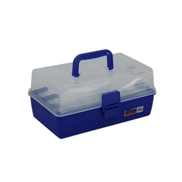 ベイシック タックルボックス 3段 ブルー