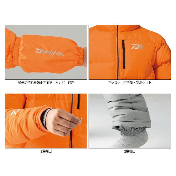 ≪新商品!≫ ダイワ ダウンスーツ DI-5305 ターコイズ 2XLサイズ|fugashop2|02