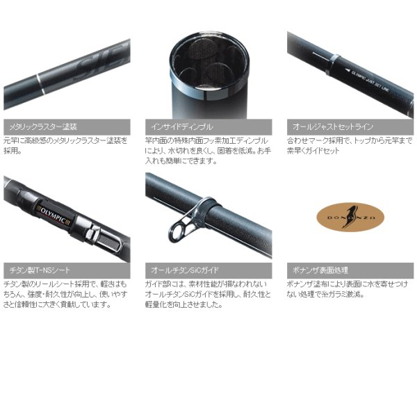 オリムピック シエラ 繊麗 500 【保証書付き】