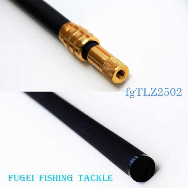 全長2.45m 276g 網経37cm たも H18fgTLZ2502 カーボン製タモ 振り出し式 玉網 渓流釣 バス釣